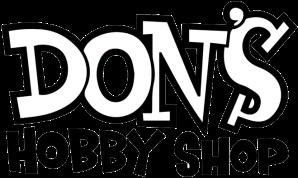 Don's Logo Black with White